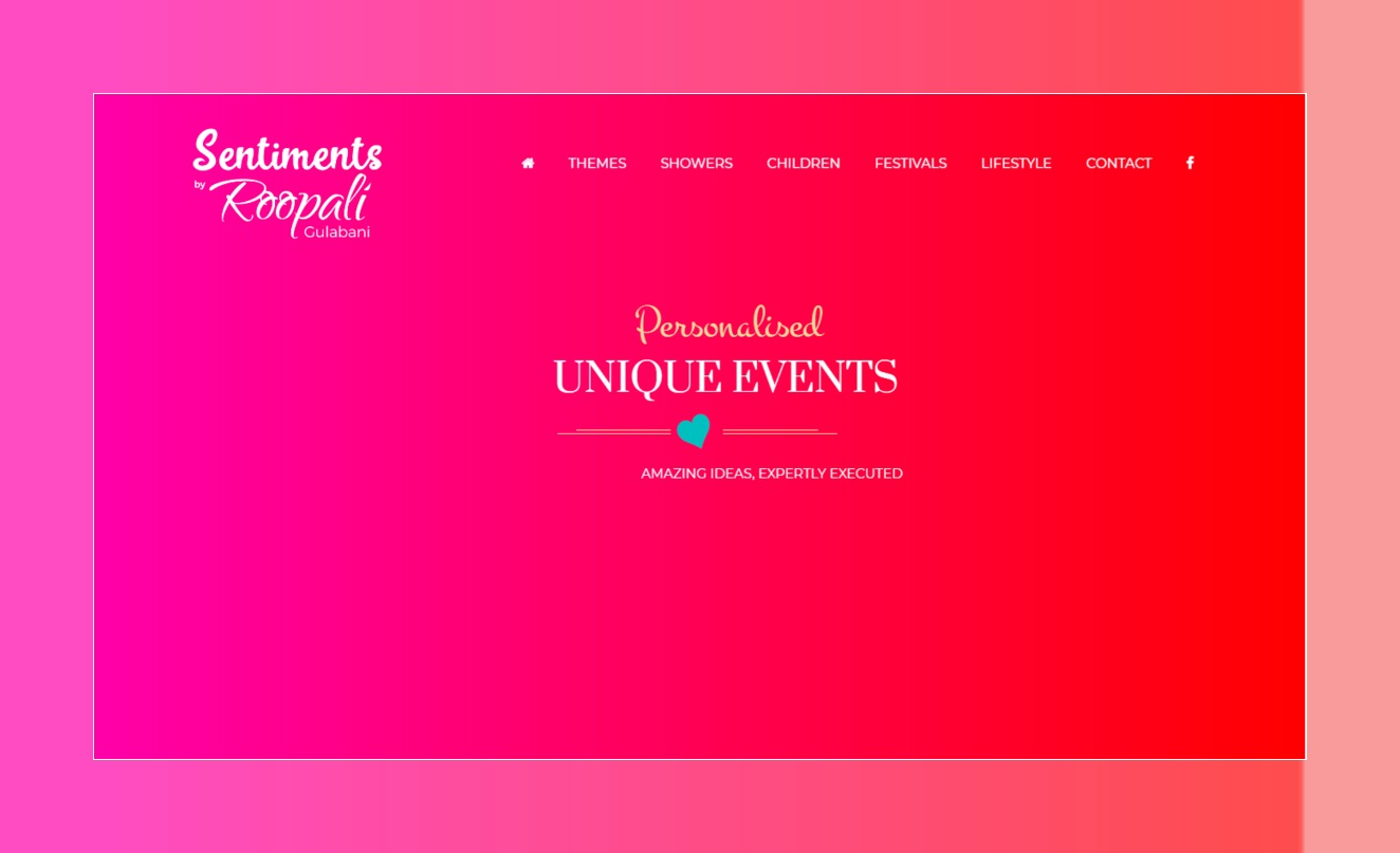 Sentiments Events by Roopali Gulabani